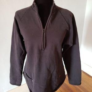 Woolrich M black pullover sweatshirt
